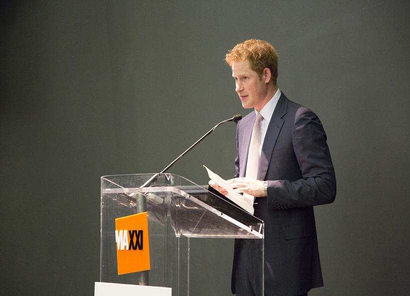 PRINCE HARRY ANNOUNCED THAT THE BRITISH ARTIST WOLFGANG BUTTRESS TO DESIGN UK PAVILION AT MILAN EXPO.