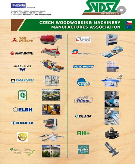 Czech Woodworking Machinery Manufacturers Association (SVDSZ).