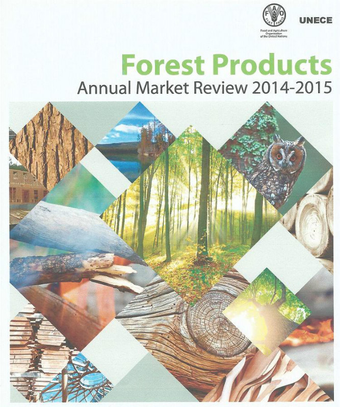UNECE/FAO: the 104th Forest Products, Annual Market Review 2014-2015 is issued.