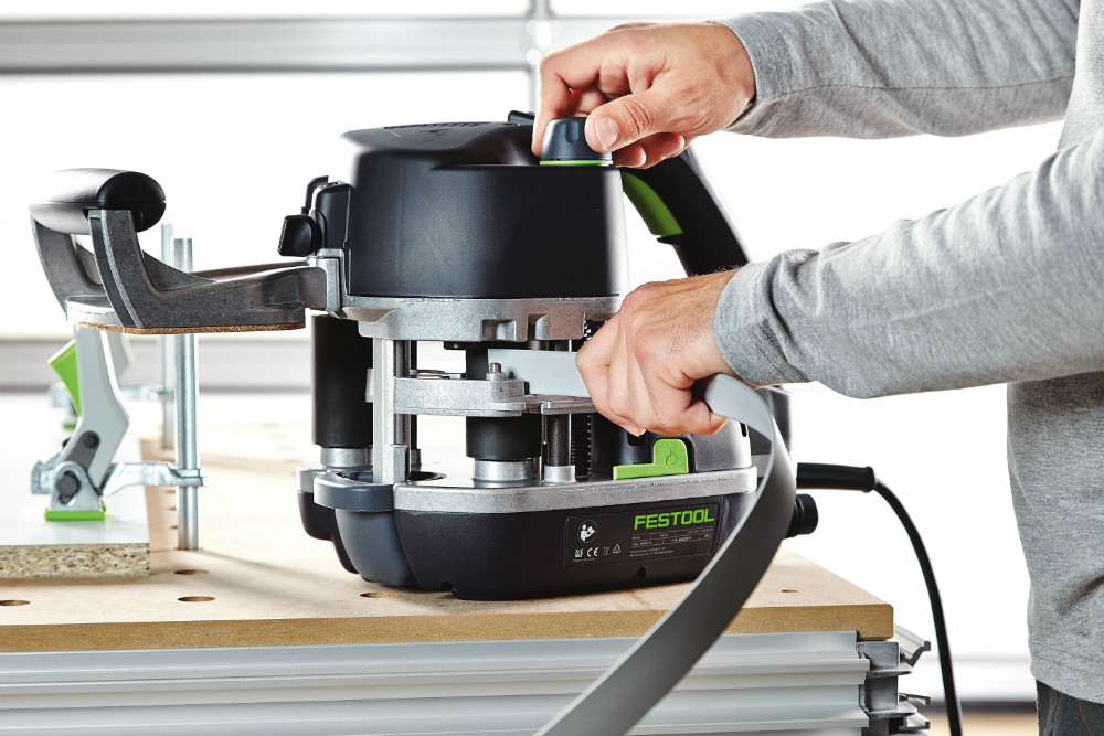 Festool Conturo: The perfect first mobile edge bander with unique cartridge gluing system.