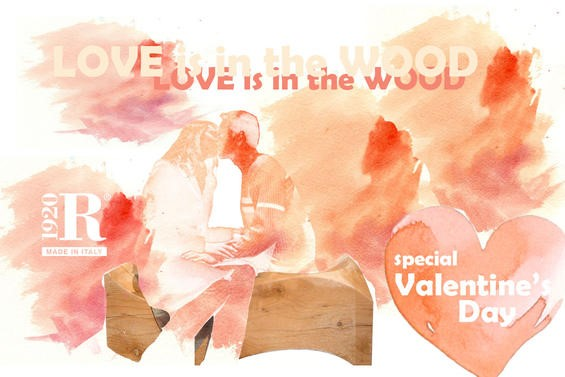 Happy  Valentine's day, for Riva 1920 Italy: Love is in the wood!