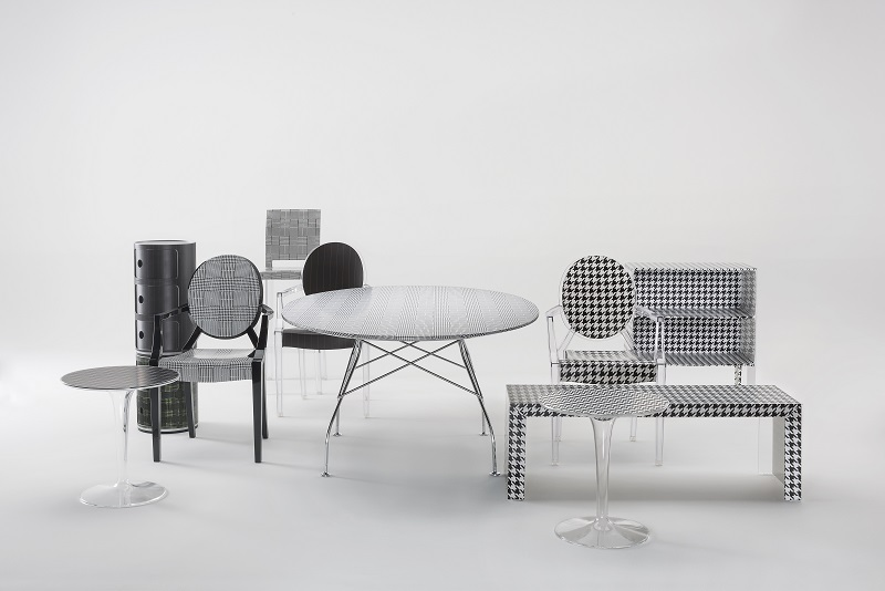 Kartell + Lapo Elkann it\'s a wrap for furniture!