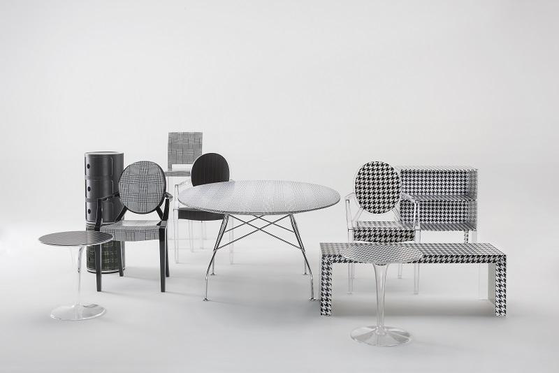 Kartell + Lapo Elkann it\'s a wrap for furniture!