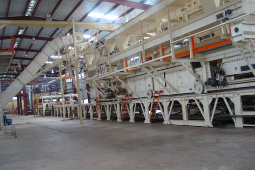 Maichew Particleboard Manufacturing PLC, Ethiopia.