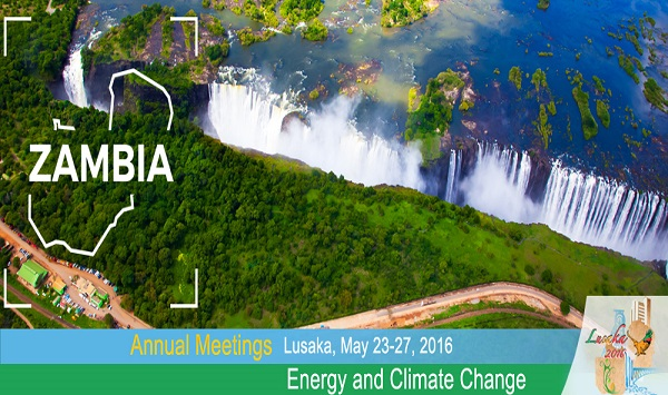 Energy and Climate Change, Meeting in Zambia.