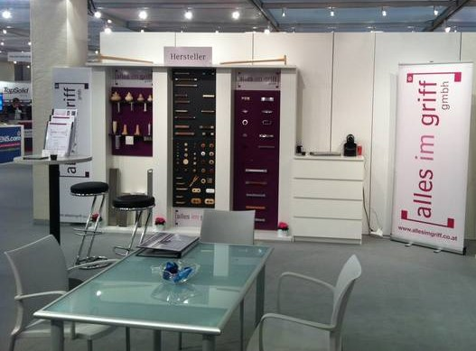 The booth at Zow, Bad Salzuflen