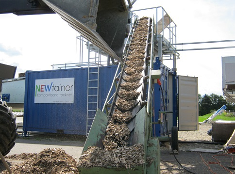NEWtainer drying systems from Germany