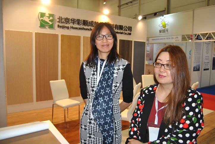 Left, Nora Liu/Assistant G.M. and Sandy Wang/Import & Export Dep.Manager. Photo Datalignum