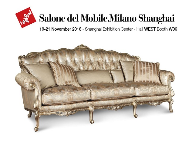 Angelo Cappellini exhibits to Salone del Mobile Shanghai, 19-21 November 2016