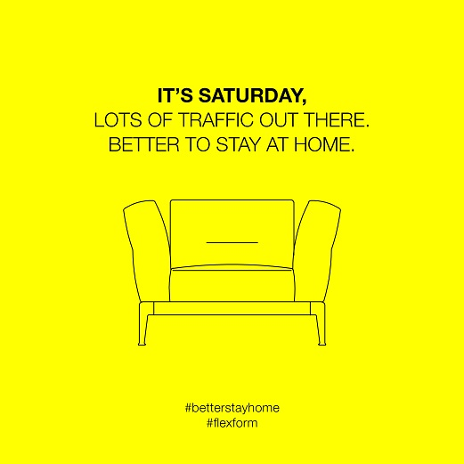 FLEXFORM LAUNCHES THE NEW SOCIAL CAMPAIGN BETTER STAY HOME