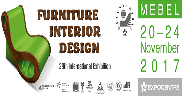 MEBEL FURNITURE INTERIOR DESIGN FAIR, MOSCOW 20-24 November 2017