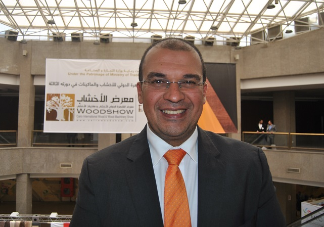 Walid Farghal, Woodshow�s General Manager. Photo Datalignum