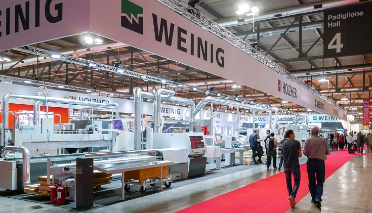 XYLEXPO 2018 TRADE FAIR: SUCCESSFUL WEINIG  APPEARANCE IN MILAN