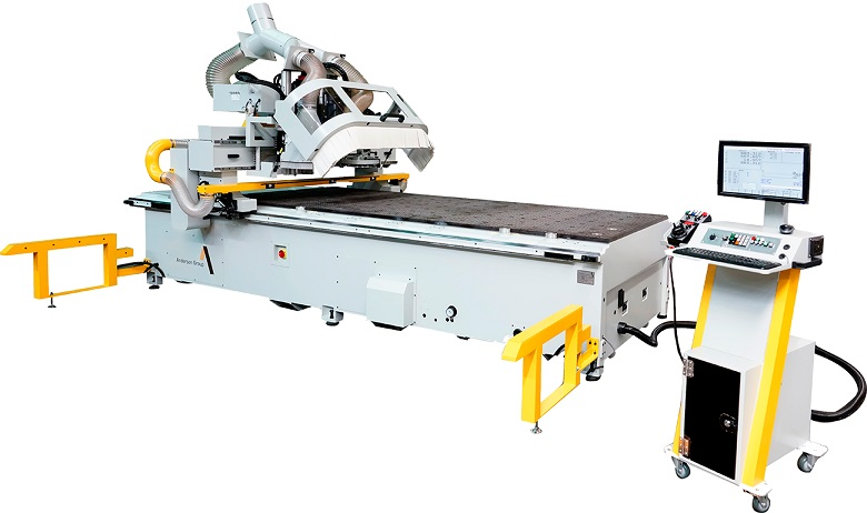 One CNC Router machine Stratos series.