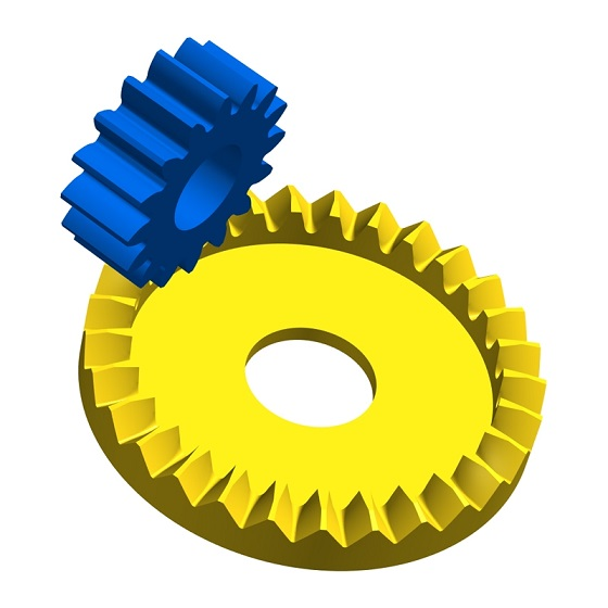 Gear Models in 3D