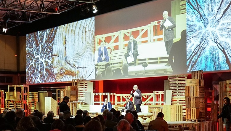 CONVENTION IN MILAN-ITALY: THE WOOD RECYCLE CREATES VALUE FOR THE WOODENWAY CHAIN