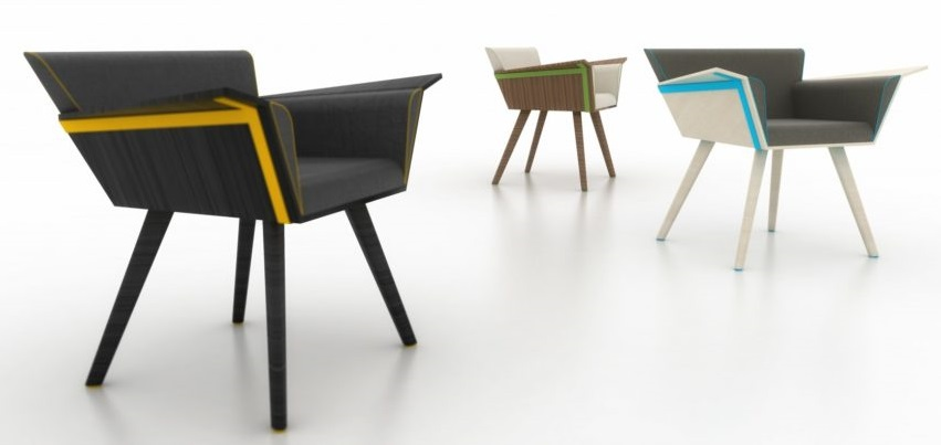 The designer Kortan Idrizoglu is the winner of the competition for best design of wooden chair, in Macedonia.