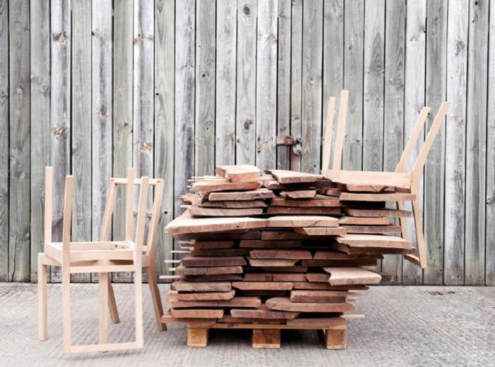 AHEC Out of the Woods. Adventures of 13 Hardwood Chairs.
