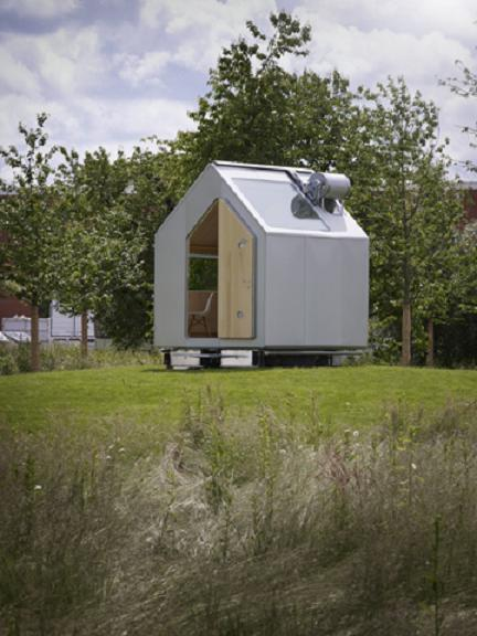 """Diogene"", a cabin designed by Renzo Piano and RPBW for Vitra."