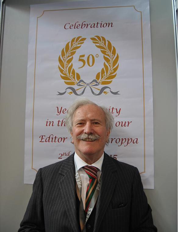 50th Years celebration activity in the sector of our Editor Pietro Stroppa.
