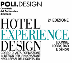 Hotel Experience Design: Designing Hotel Common Spaces -  3/7 July 2007- Milan